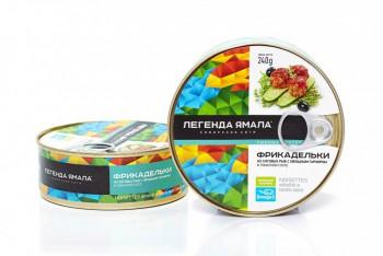 Фрикадельки из сиговых рыб с овощным гарниром в томатном соусе  - Yamal Product