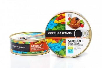 МУКСУН ОБЖАРЕННЫЙ В ТОМАТНОМ СОУСЕ - Yamal Product
