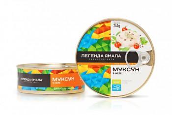 МУКСУН В ЖЕЛЕ НАТУРАЛЬНЫЙ - Yamal Product