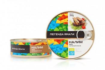 НАЛИМ ФИЛЕ КОПЧЕНЫЙ В МАСЛЕ - Yamal Product