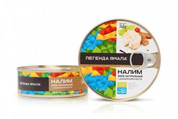 НАЛИМ ФИЛЕ НАТУРАЛЬНЫЙ С ДОБАВЛЕНИЕМ МАСЛА - Yamal Product
