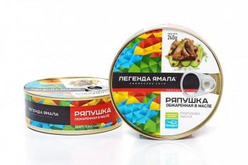 РЯПУШКА СИБИРСКАЯ ОБЖАРЕННАЯ В МАСЛЕ - Yamal Product