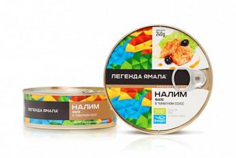 НАЛИМ ФИЛЕ НАТУРАЛЬНЫЙ В ТОМАТНОМ СОУСЕ - Yamal Product