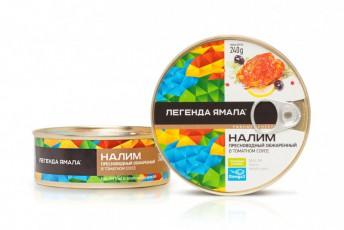 НАЛИМ ОБЖАРЕННЫЙ В ТОМАТНОМ СОУСЕ - Yamal Product