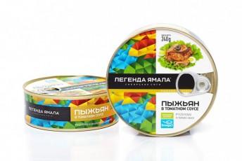 ПЫЖЬЯН НАТУРАЛЬНЫЙ В ТОМАТНОМ СОУСЕ - Yamal Product