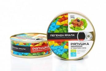 РЯПУШКА СИБИРСКАЯ ОБЖАРЕННАЯ В ТОМАТНОМ СОУСЕ - Yamal Product