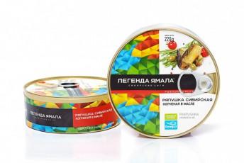 РЯПУШКА СИБИРСКАЯ КОПЧЕНАЯ В МАСЛЕ - Yamal Product