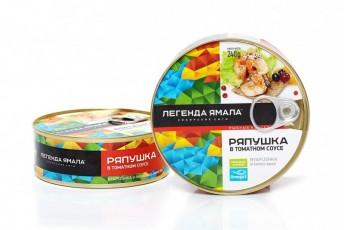 РЯПУШКА СИБИРСКАЯ НАТУРАЛЬНАЯ В ТОМАТНОМ СОУСЕ - Yamal Product
