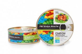 СЫРОК ОБЖАРЕННЫЙ В ТОМАТНОМ СОУСЕ - Yamal Product